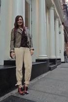 cream Ralph Lauren pants