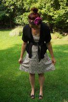 kensie top - strapless the gap dress - DIY accessories