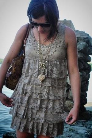forever 21 dress - forever 21 necklace