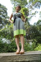 BCBG dress - Michael Kors shoes - Vintage-mommys closet belt