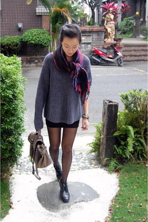 Ralph Lauren sweater - Nine West boots - H&M Trend skirt