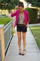 Topshop blazer - Zara heels