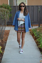 H&M skirt - Club Monaco blazer