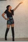 Black-style2bb3-boots-black-f21-shirt-black-f21-skirt-silver-f21-bracelet-