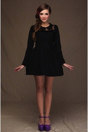 mini a line hypnotic dolly dress