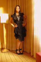 black Forever21 dress