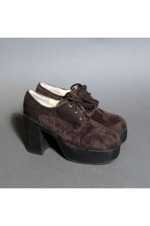 grunge platform Moonshine Hill boots