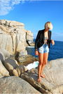 Black-ladakh-blazer-black-mooloola-intimate-blue-mink-pink-shorts-gold-div