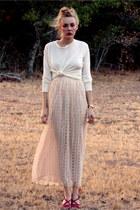 Silk-lace-oscar-de-la-renta-skirt