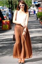 tawny Zara skirt