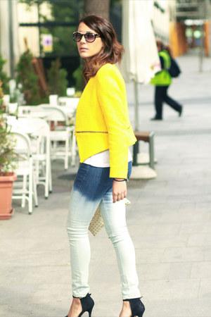 Zara blazer - Zara jeans - Bimba & Lola sunglasses