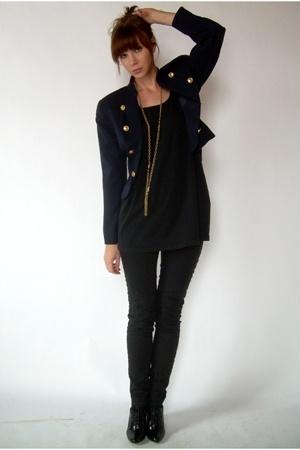 jacket - American Apparel top - Silence & Noise pants