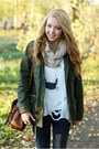 White-romwe-sweater-brown-tommy-hilfiger-boots-dark-gray-romwe-jeans