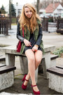 Black-lashes-skirt-ruby-red-sheinside-shoes-olive-green-choies-jacket