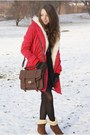 Dark-brown-us-polo-boots-red-wholesale-dress-coat