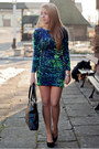 Black-czas-na-buty-shoes-green-motel-rocks-dress-black-supergalanteria-bag
