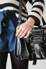 Black-gatta-tights-navy-topshop-sweater-black-romwe-bag-blue-romwe-shorts
