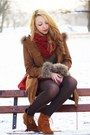 Red-h-m-bag-brown-sheinside-coat-dark-brown-romwe-sweater