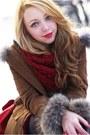 Red-h-m-bag-brown-sheinside-coat-dark-brown-romwe-sweater