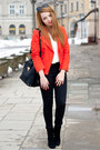 Red-sheinside-jacket-black-h-m-shoes-black-etorba-bag