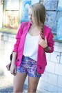 Brown-czas-na-buty-shoes-hot-pink-udobuy-jacket-brown-arafeel-bag
