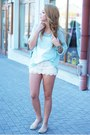 Light-blue-romwe-sweater-light-blue-romwe-bag-white-oasap-shorts