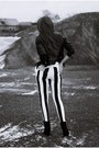 Black-h-m-shoes-black-sheinside-jacket-black-motel-rocks-pants