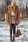 Dark-brown-czasnabuty-boots-brown-sheinside-coat-beige-romwe-sweater