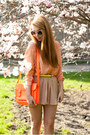 Peach-livia-clue-shirt-beige-papilion-shoes-orange-choies-bag