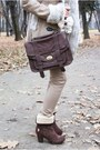 Beige-romwe-coat-dark-brown-us-polo-shoes-tan-romwe-leggings