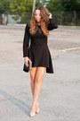 Light-pink-wholesale-shoes-black-nommo-dress-black-choies-bag