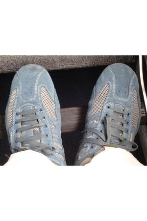 mesh-suede Geox sneakers