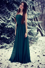 Forest-green-edressy-dress