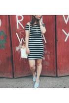 light denim kicks shoes - black and white bought online dress