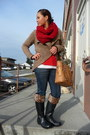 Black-jimmy-choo-hunter-boots-boots-ruby-red-f21-scarf-nude-coach-purse-li