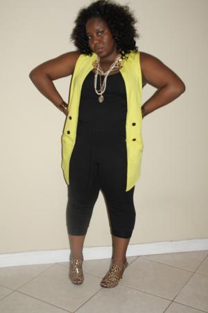 Urban Outfitters vest - Forever 21 leggings