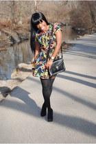 eShakti dress - asoscom tights