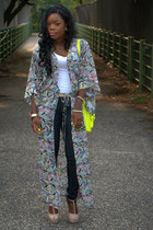 Target bag - H&M cardigan