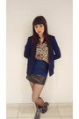 Navy-rubi-boots-navy-cotton-on-blazer-navy-skirt-stockings