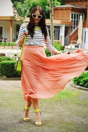 Zara blouse - H&M heels