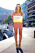 red River Island dress - yellow Style Up wedges