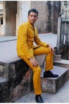 mustard Munir Khamker jacket