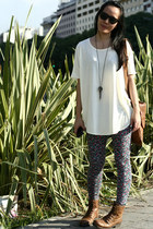 Complot leggings - Zara boots - Complot t-shirt