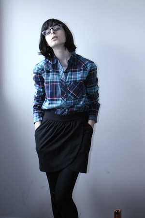BDG shirt - Talula skirt - American Apparel leggings