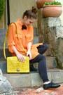 Black-sportsgirl-leggings-yellow-etched-satchel-asos-bag-black-bowtie-tie
