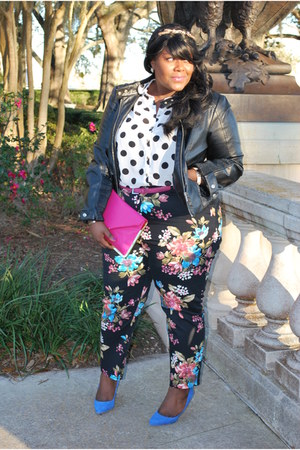 florall print Simply Be pants