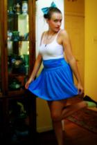 Target skirt - Nine West shoes - handmade accessories