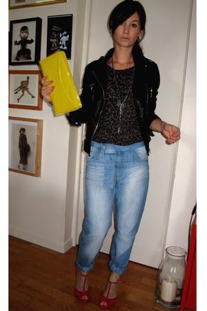 H&M purse - Serge Pariente jacket