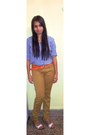 Shirt-heels-denizen-pants-belt