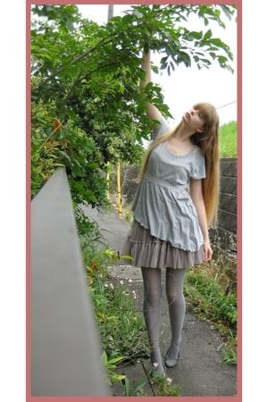H&M blouse - store in harajuku skirt